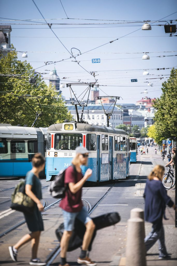 Göteborg Valand Tram